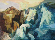 Cliff forms by Ian Hopton, Artist